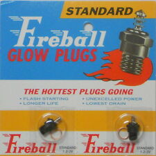 Swanson Fireball Standard R/C (#S20) Glow Plug (No Idle Bar, LONG) Qty: 12