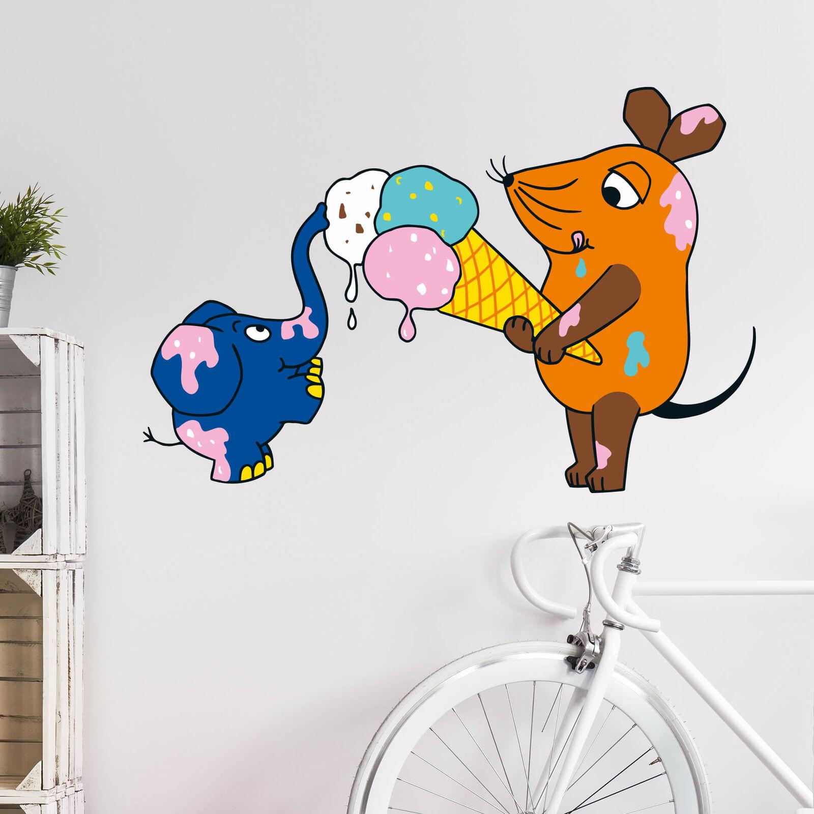 Murales murales el ratón come hielo multiColor