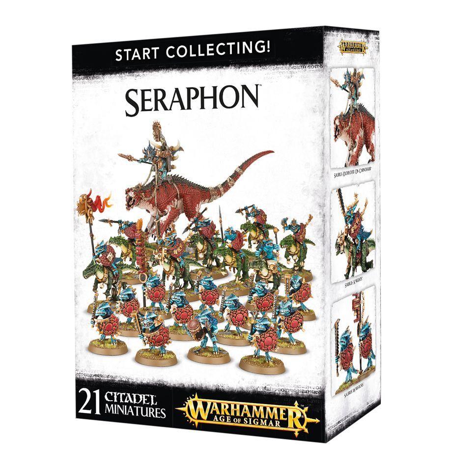 Start Collecting Seraphon Warhammer Age of Sigmar NIB Flipside