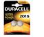 2-piles-Lithium-CR2016-DL2016-DURACELL-3V-DLC-2024 miniatura 2