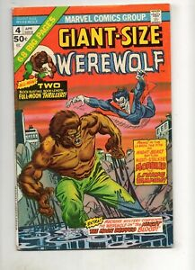 Giant-Size-Werewolf-by-Night-4-MORBIUS-RARE-APPEARANCE-1976-Marvel-NICE-VF-7-5