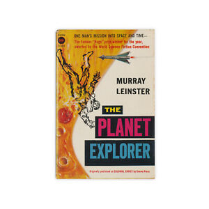 The-Planet-Explorer-vintage-1957-science-fiction-paperback-by-Murray-Leinster