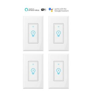 Smart-Switch-WIFI-Light-Wall-Works-with-Alexa-Google-Home-IFTTT-smart-life-4pack
