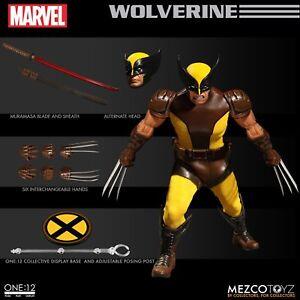 Mezco Wolverine X-men Figurine d'action 6 Pouces Logan One 12 En Stock 696198765311