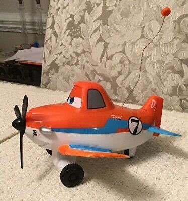 Disney Planes Dusty Crophopper Wing Control Remote-controlled RC Plane