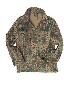 Wehrmacht-M44-Erbsentarn-Jacke-Drillich-Uniformjacke-Gr-58-Field-Jacket-Pea-Dot