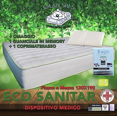 Miglior Materasso In Memory.Materasso In Memory Piazza E Mezza 120x190 Dispositivo Medico