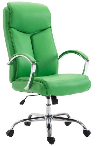Bürostuhl Vaud Kunstleder XL Chefsessel 140 kg Drehstuhl Leder ergonomisch