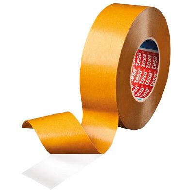 tesa 64621 Double Sided Transparent PP Tape With Hotmelt Adhesive 19mm x 50m
