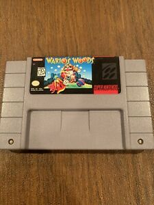 Wario's Woods (Super Nintendo Entertainment System) Loose! Game Only!