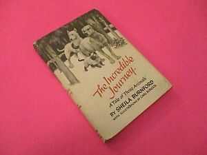 The-Incredible-Journey-by-Sheila-Burnford-1961-1st-Edition-30th-Print-Hardcover