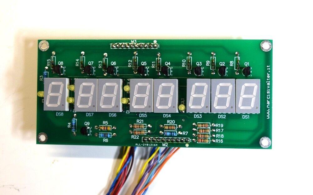 Cronometro Millesimale 1/1000 secondo con PICmicro - Thousandth Stopwatch 16F887