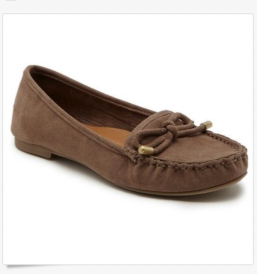 9d5ee155659 Girls' Revel Darcy Moccasin Loafer Shoes Saddle Brown NEW Girls Size 1