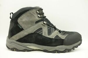 Propet-Black-Material-Lace-Up-Walking-Trail-Ankle-Boot-Shoe-Mens-14-3E-EEE