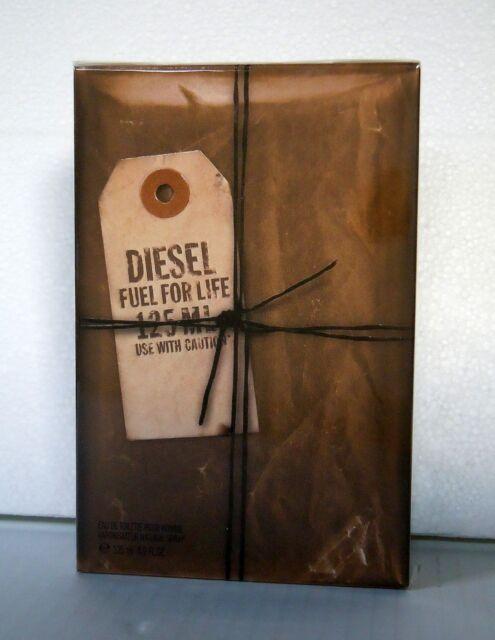 DIESEL Fuel for Life 125ml Eau de Toilette Spray Homme MAN NEU in  Folie