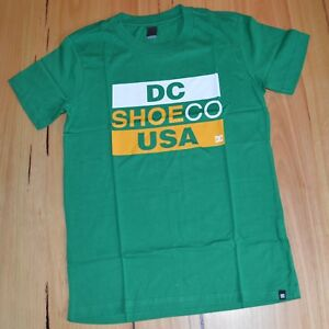 BLUE SIZES NEW 12 /& 16 YEARS DC Shoes Boys Printed T Shirt