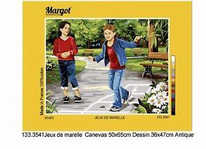 Margot de Paris Tapicería / Bordados Lienzo - Rayuela (Jeux De Marelle)