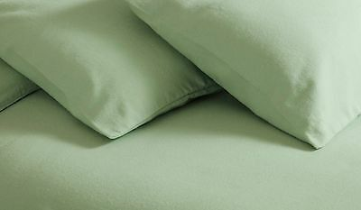 Bianca Cotton Soft 100/% Brushed Cotton Flannelette Flat Sheet