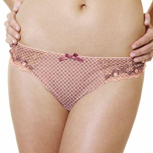 Panache Lingerie Saffron Thong//Knickers Pink//Multi 5669