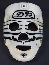 Vintage DR Daignault Rolland HB8 White Black Hockey Goalie Mask Street Hockey