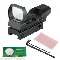 Red Green Dot Laser Sight Scope For 20mm Weaver Picatinny Air Rifles Pistol