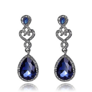 4-Color-High-Quality-Glass-Rhinestone-Fashion-Women-Wedding-Party-Earrings-Gifts