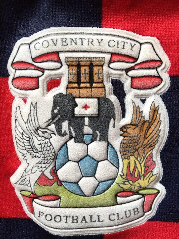 Fodboldtrøje, Gammel original Coventry udebanetrøje, Le