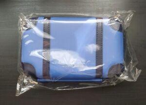 Brand-new-ANA-All-Nippon-Airways-GloBe-trotter-AMENITY-KIT-BLUE-Sekkisei-Myv