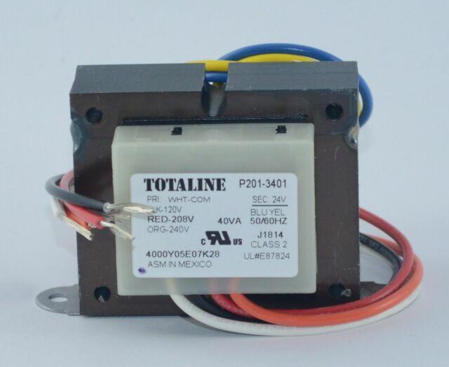 P201-3403 Transformer 40VA 120//208 240V Primary 24V Secondary Totaline