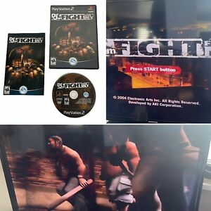 Def Jam Fight for NY Sony PlayStation 2 PS2 Complete CIB Tested & Working