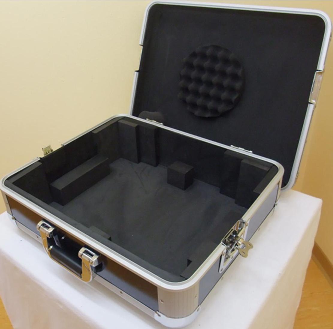 2 St. Plattenspieler-Koffer TTC-2 Tour ALU Plattenspielercase für Technics 1210