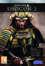 Total War Shogun 2 Complete w/ Rise of the Samurai Fall of the Samurai all DLCs