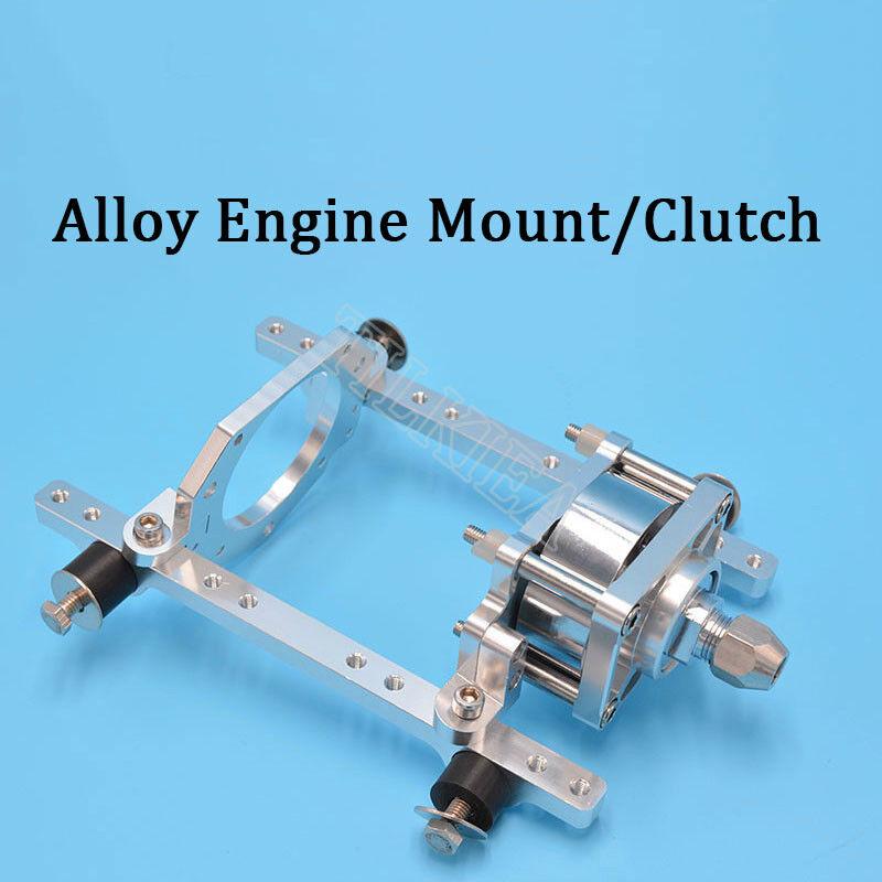 CNC Aluminum tuttioy Engine Mount Or Clutch For  Zenoah Marine Engine RC Boat Gas  ecco l'ultimo