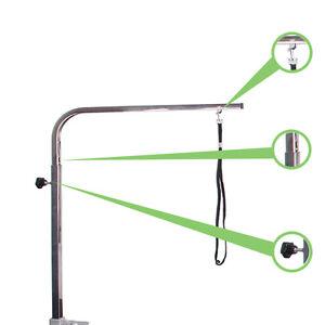 Adjustable-Grooming-arm-stainless-steel-General-Portable-pet-Groomingtable-arm