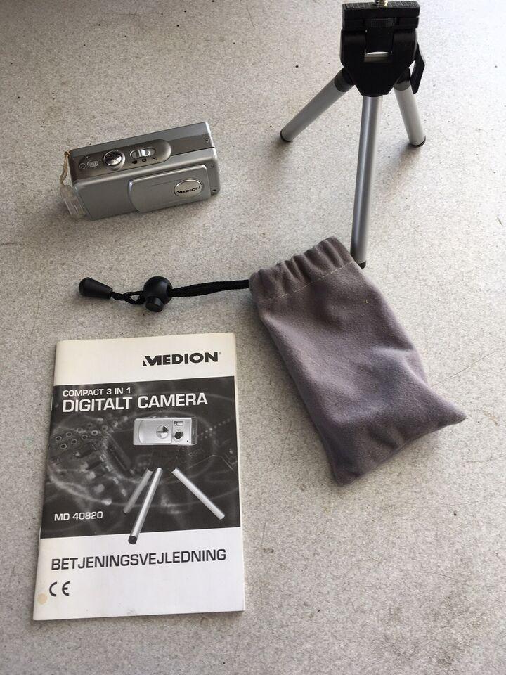 Medion, Compact 3 in 1, 2 megapixels