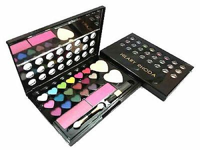 HILARY RHODA 18 EYESHADOW 2 BLUSH & 2 FACE POWDER MAKEUP KIT-NO-1485-