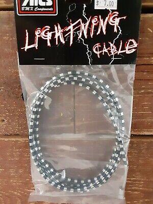 Details about  /MCS LIGHTNING BRAKE CABLE BMX MTB FIXIE CHROME