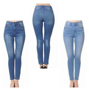 57947c77a9 WaxJean Women's Push-Up High Rise Skinny Denim