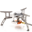 3500W Portable Outdoor Picnic Gas Burner Foldable Camping Steel Stove SET