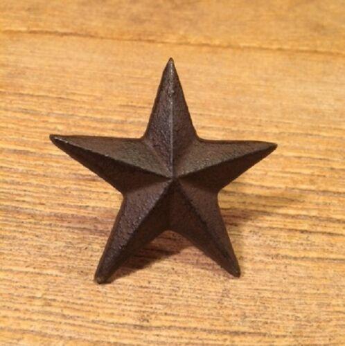 "Cast Iron Texas Star Nails Medium 2 3//4/"" Case of 6 Craft Decor 0170-02112"