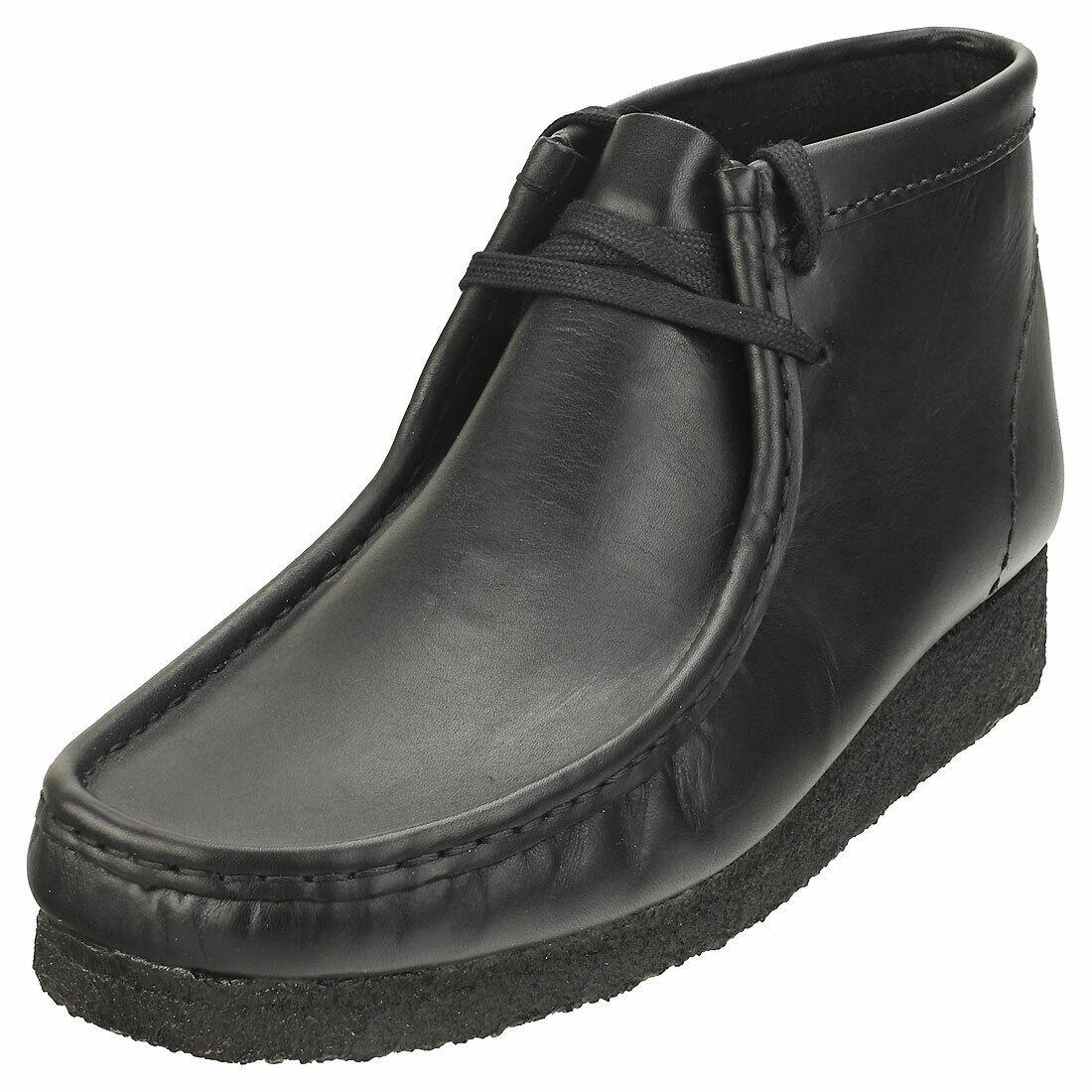 Clarks Originals Wallabee Boot Mens Black Wallabee Boots - 11 UK