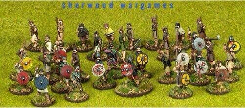 28mm Welsh 4 Point Army For Saga, By Gripping Beast, BNIB Dark Ages
