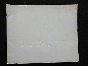 1970's McLOUTH STEEL CORPORATION MECHANICAL DRAWINGS BROCHURE DETROIT MI