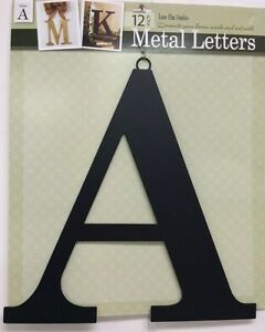 image is loading black metal letters 12 034 indoor outdoor hanging