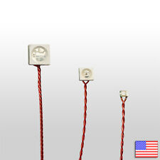 Pre Wired Led Micro Wire Water Resistant Multi Color Flash 0805 3528 Rgb Us Ship