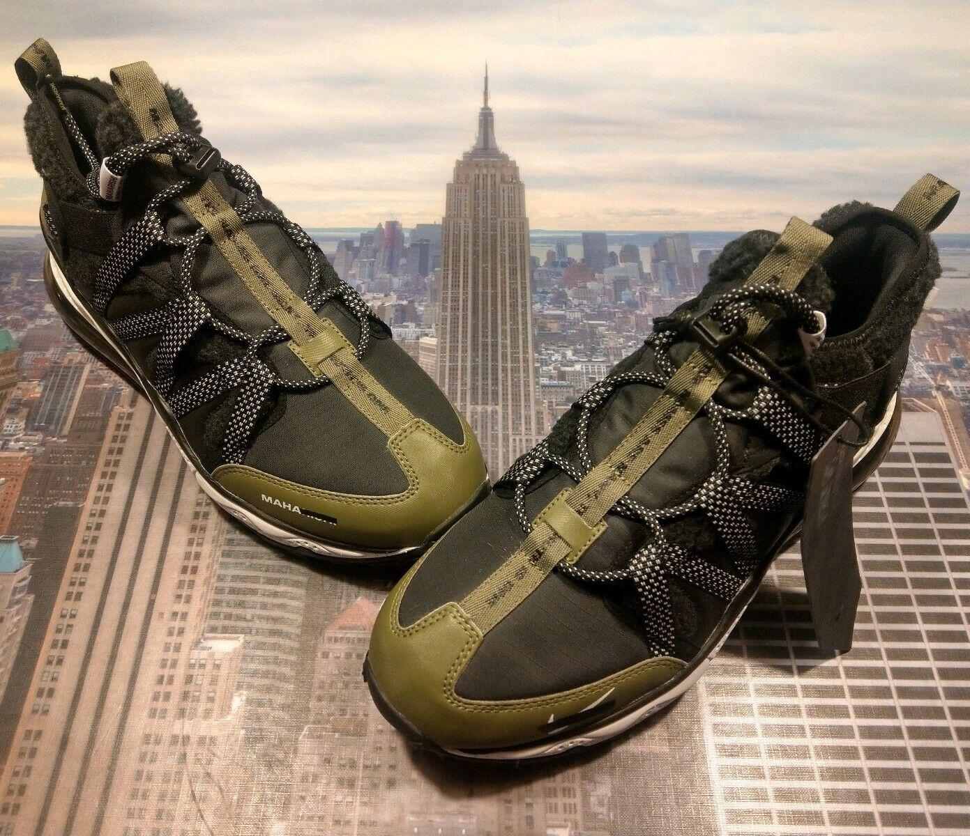 Nike iD Air Max 270 Bowfin By Maharishi Black Green Size 10 CJ4385 991 New Rare