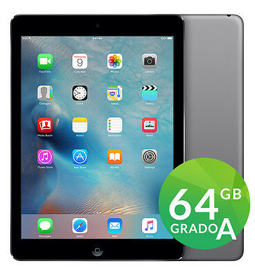 APPLE IPAD AIR 64GB NERO SPACE GRAY A1474 WIFI CON ACCESSORI GARANZIA