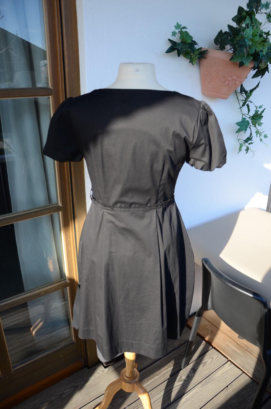 Alexander Mc QUEEN Designer Designer Designer schwarz KLEID NEU 26288e