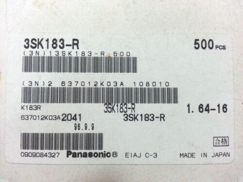 Panasonic 3SK183-R  10pc//Lot