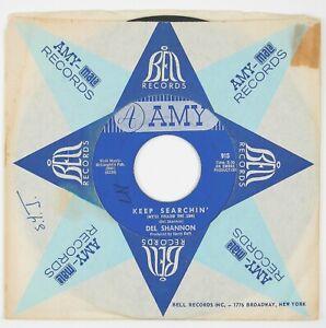 DEL-SHANNON-Keep-Searchin-039-Broken-Promises-7IN-1963-ROCK-NM